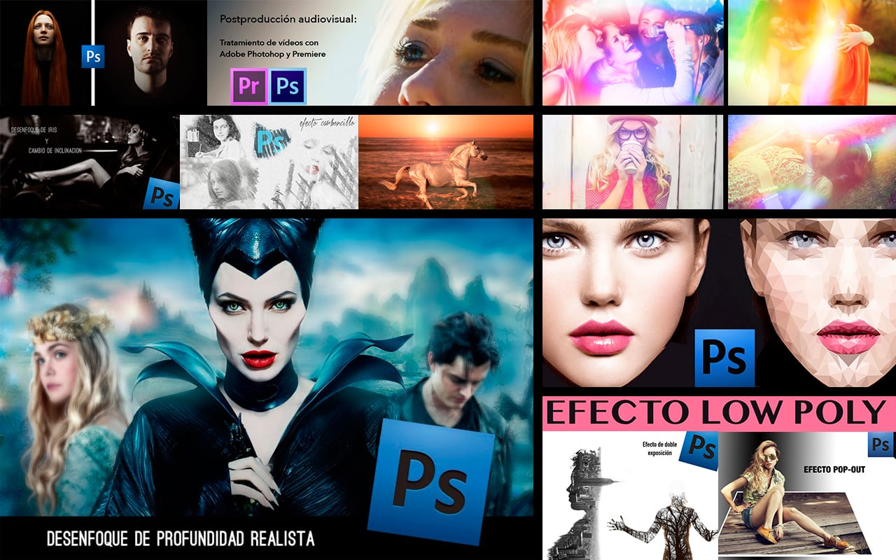 10 videotutoriales rompedores para crear efectos artísticos
