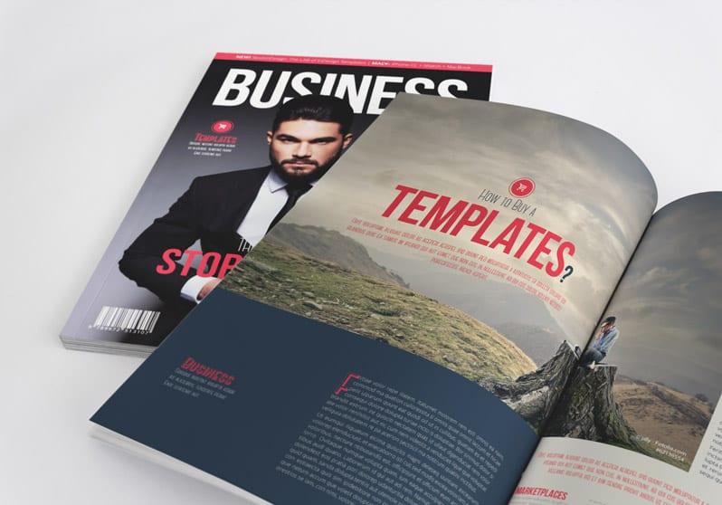 10 plantillas de revistas para Adobe InDesign gratis
