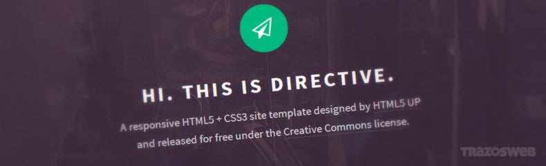 directive-html-css-template