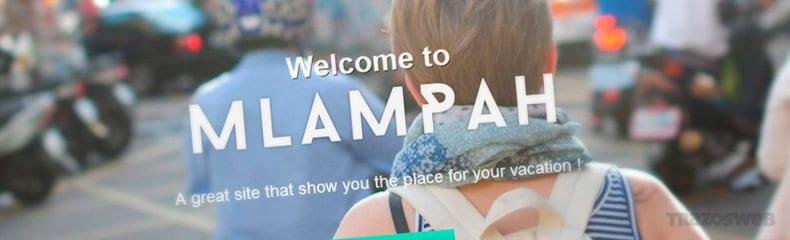 mlampah-html-css-template