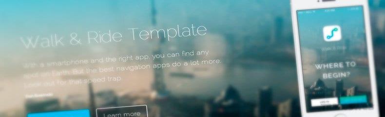walk-ride-html-css-template