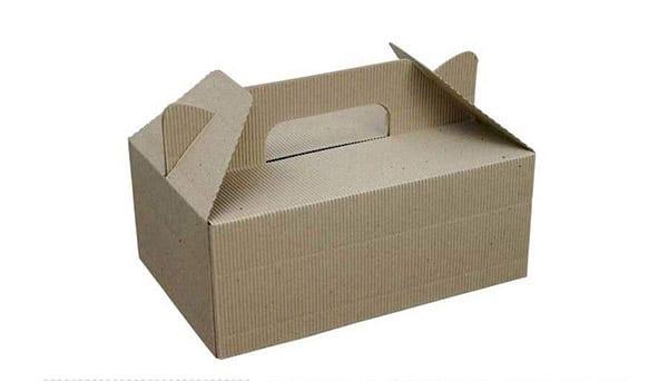 mockup caja de cartón