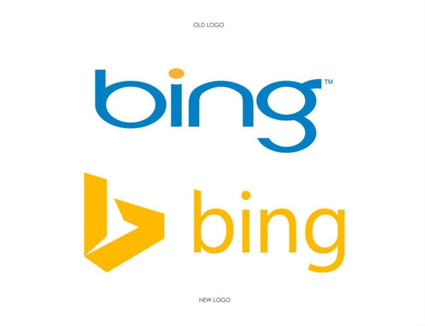 cambio logo bing