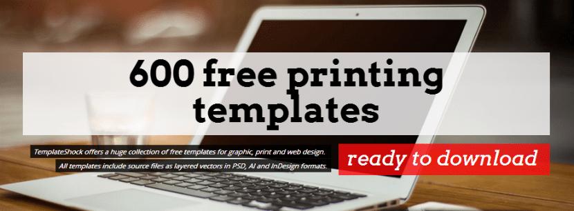 templateshock  m u00e1s de 600 plantillas gratis editables para