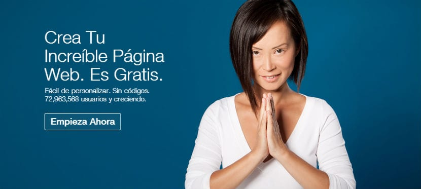 WIX Crea tu página web gratis