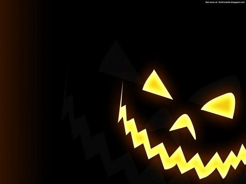 calabaza terrorifica Halloween