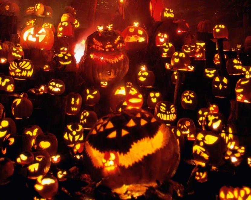 calabazas terrorificas Halloween