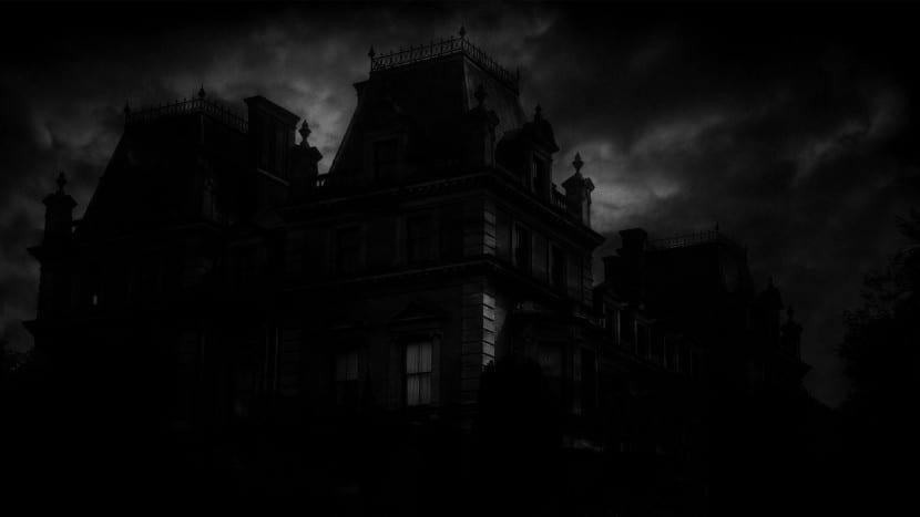 casa encantada Halloween