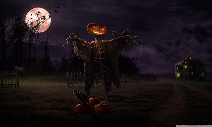 espantapajaros calabaza miedo Halloween