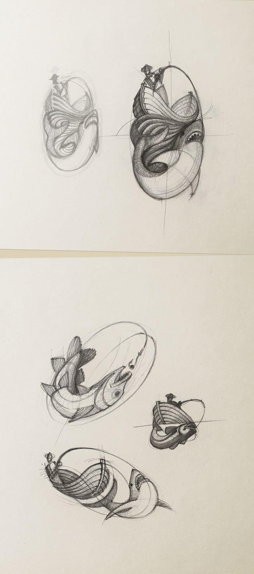 Proceso creativo logo