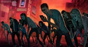 Steve Cutts zombies