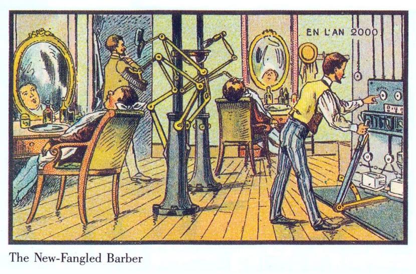 Ilustraciones retrofuturistas