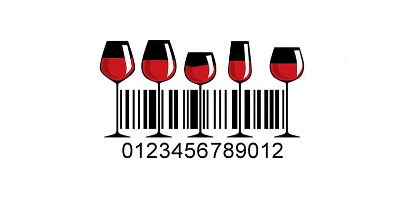 Codigo de barras vino