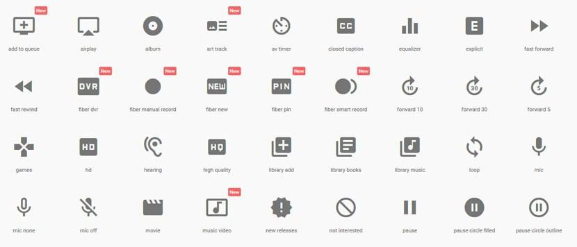 Iconos open source