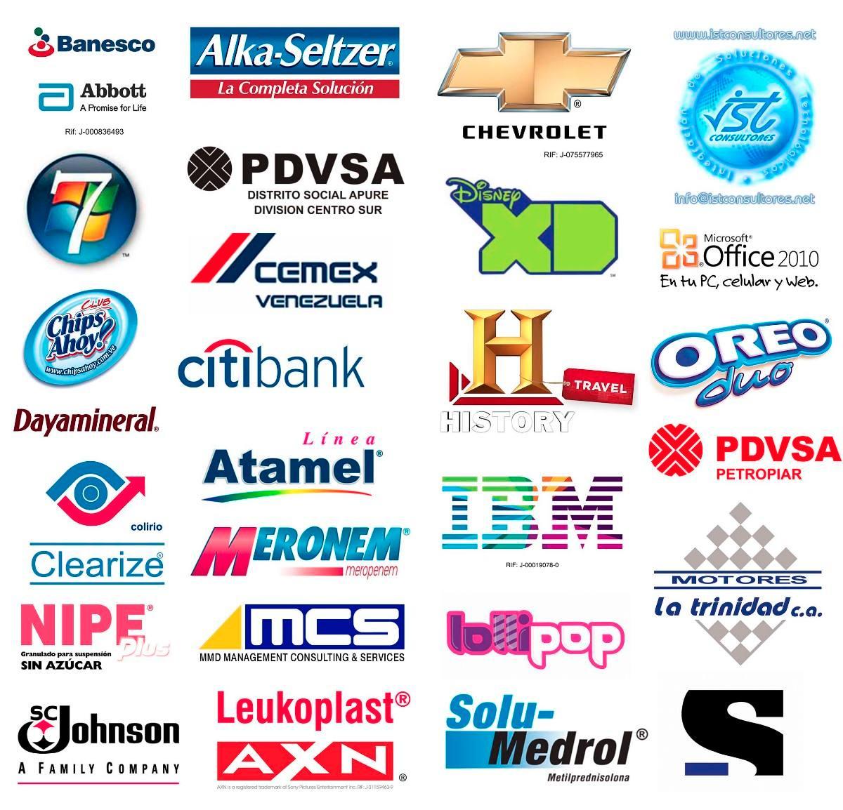 8 páginas web desde las que descargar logotipos vectorizados