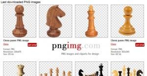 Banco de imágenes en formato PNG