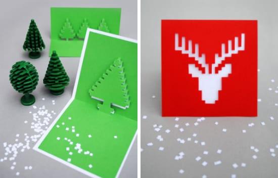Tendencias gr ficas en el dise o de tarjetas navide as - Como realizar tarjetas navidenas ...
