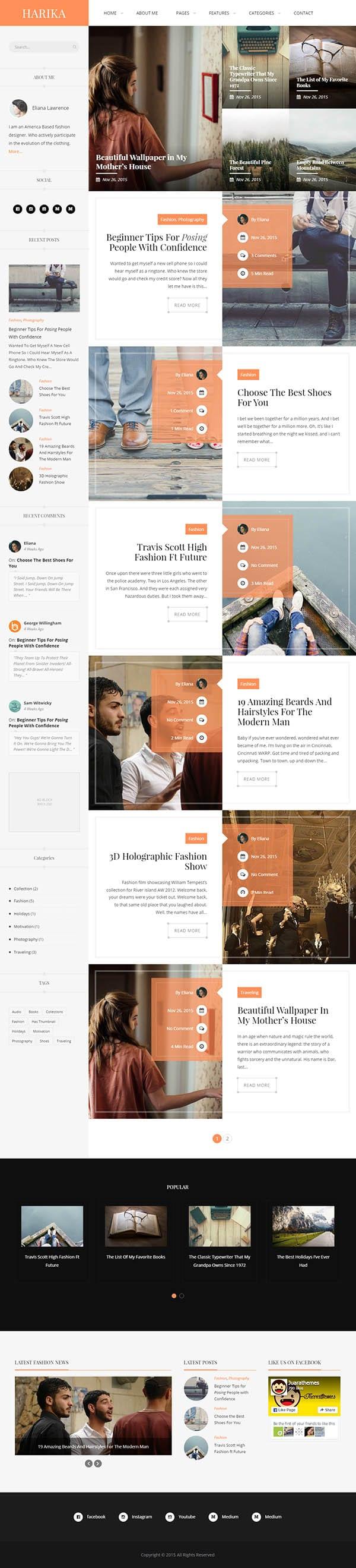 Harika-WordPress-Theme-Screen-Short