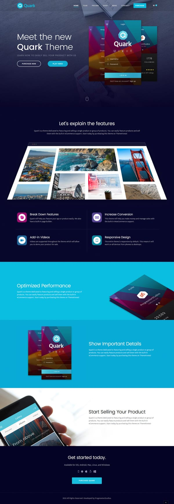 Quark-Single-Product-eCommerce-Theme