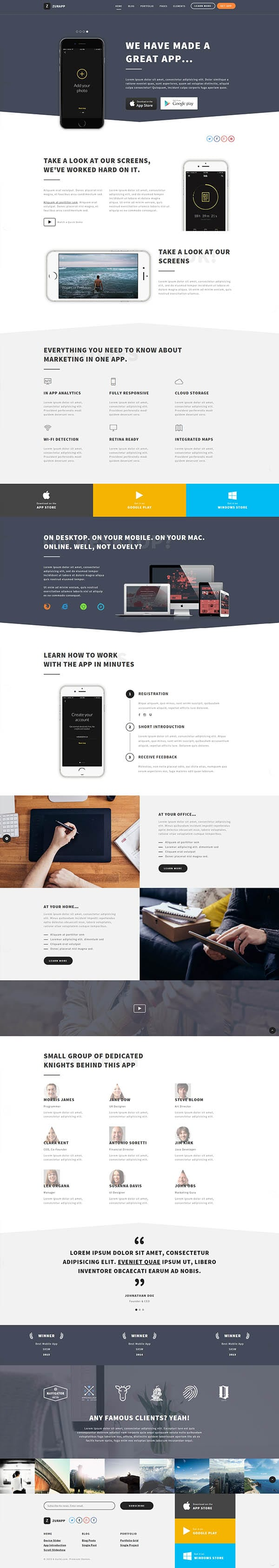 ZurApp-WordPress-Theme-Screen-Short