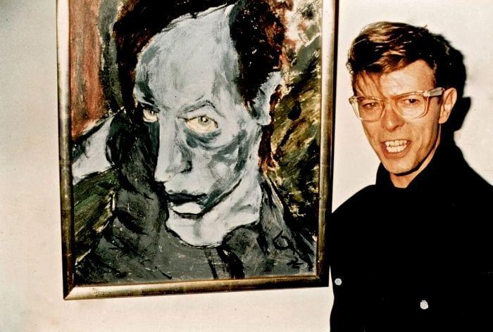 David Bowie pintura