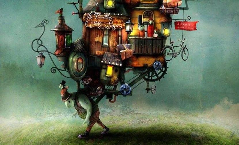 Los cuentos imaginarios del ilustrador Alexander Jansson