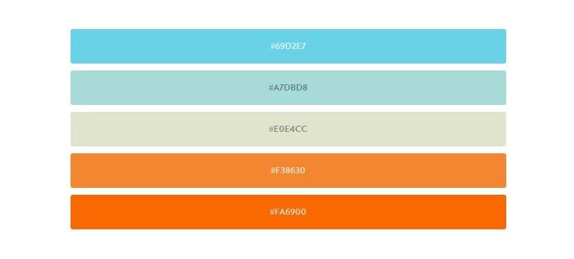 Herramientas web paletas de colores