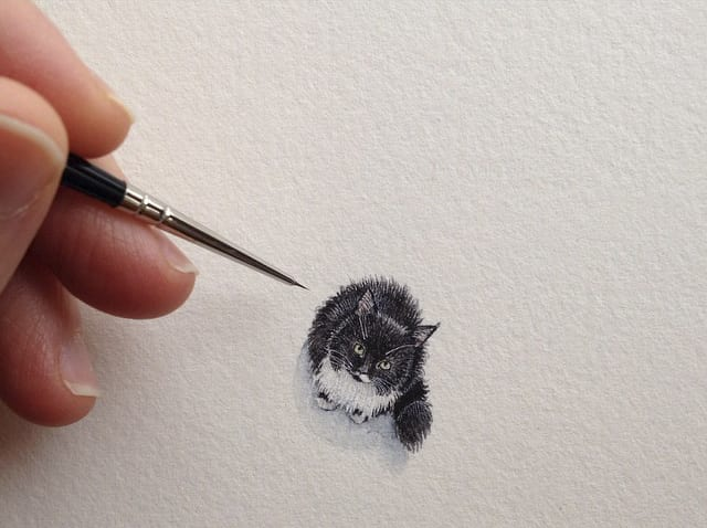 Pintura diminuta