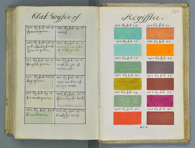 Libro antiguo color