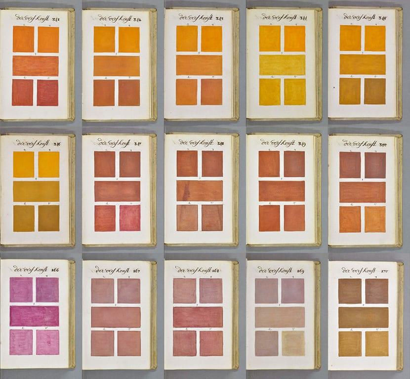Guía color antigua