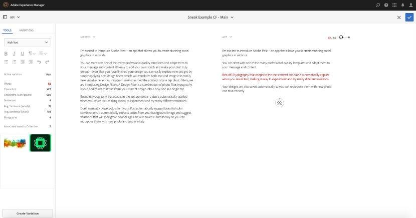 Adobe Labs cms 3