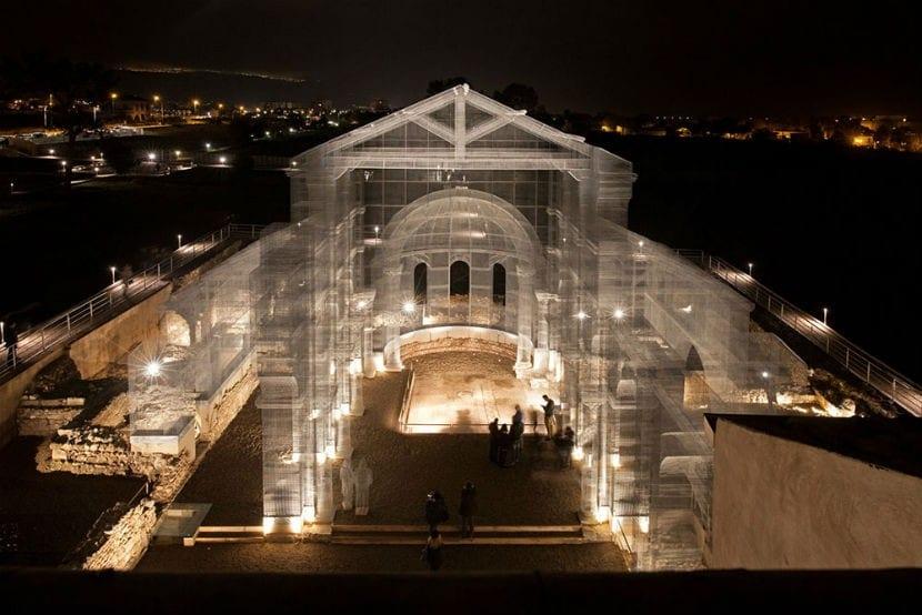 Edoardo Tresoldi iglesia