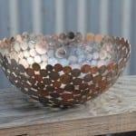 arte reciclado metal monedas moerkey 4
