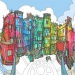 libros colorear adultos Steve McDonald 7