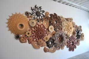 Arrecife coral madera