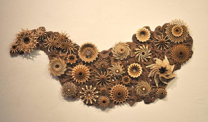 Arrecife en madera