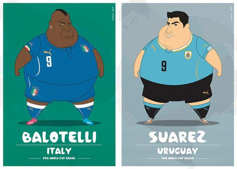 Balotelli Suarez
