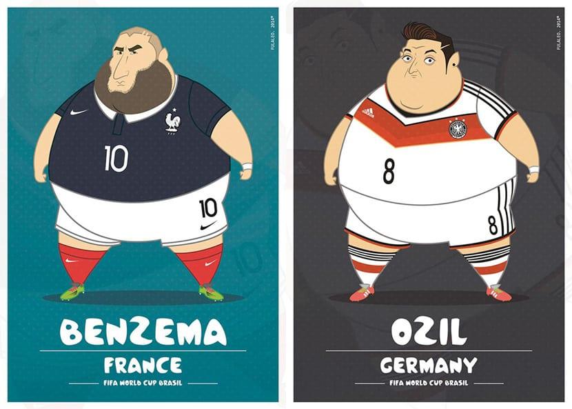 Benzema Ozil