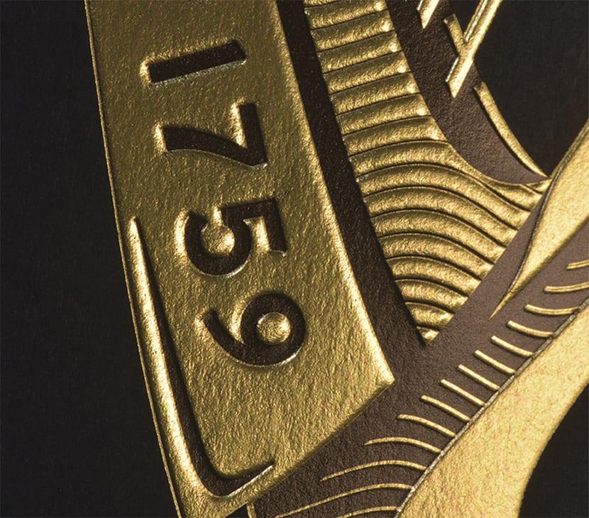 Guinness detalles texturas