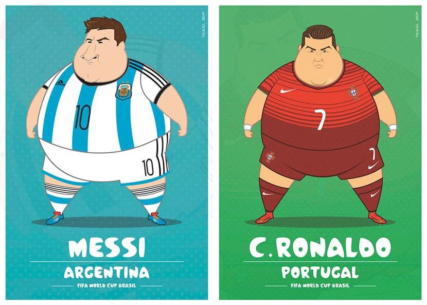 Futbolistas cebados