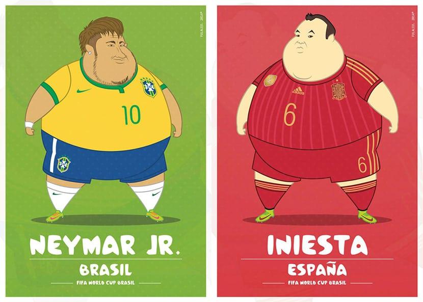 Neymar Iniesta
