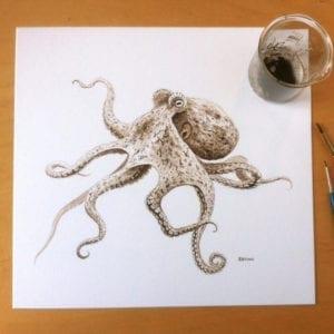 Tinta pulpo