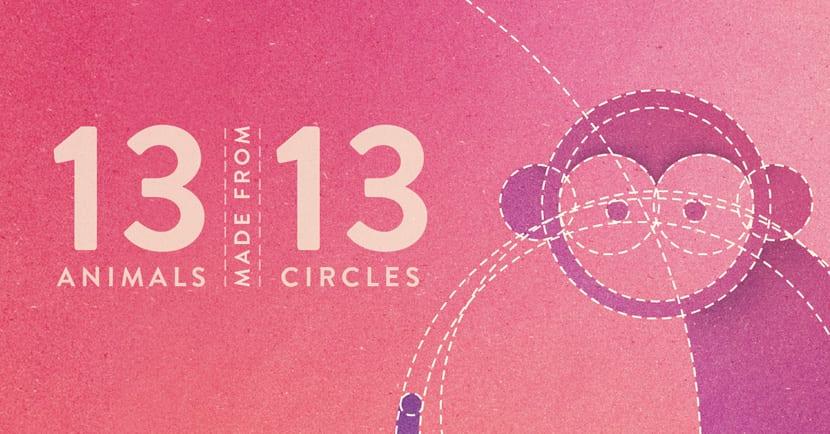 13 animales 13 círculos