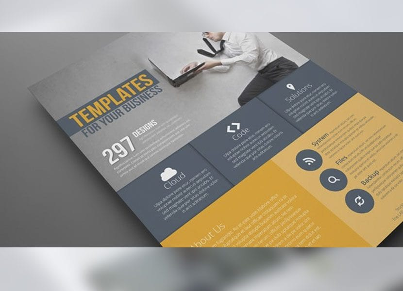 template para indesign