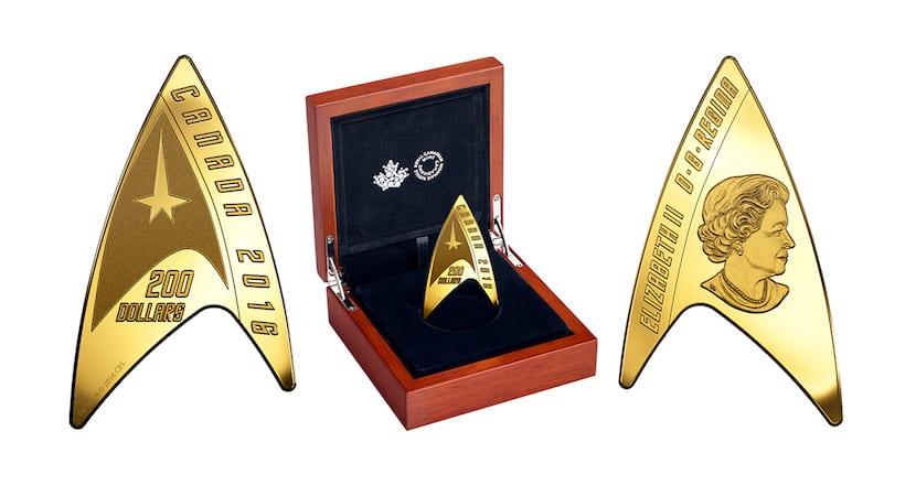 Star Trek monedas