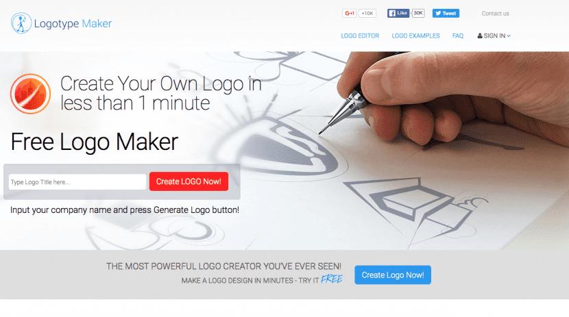 logotypemaker para crear logos gratis