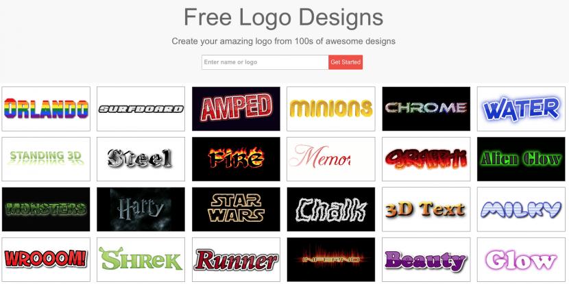 7.flammingtext para generar logos para youtube