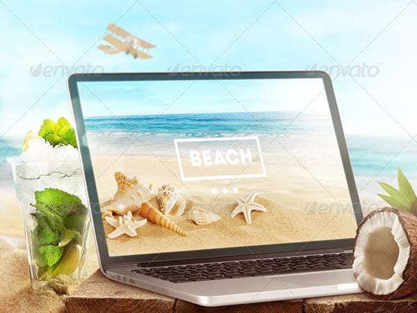 Beach-style-Laptop-and-tablet-Mock-Up