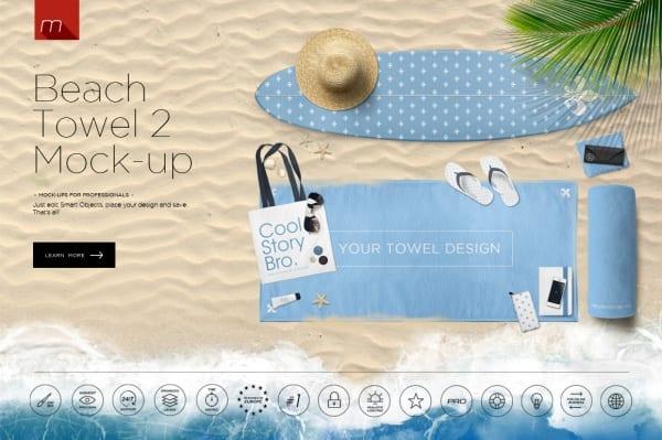 Highly-Editable-Beach-Mockup
