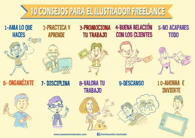 10 consejos para llegar a ser un buen diseñador freelance